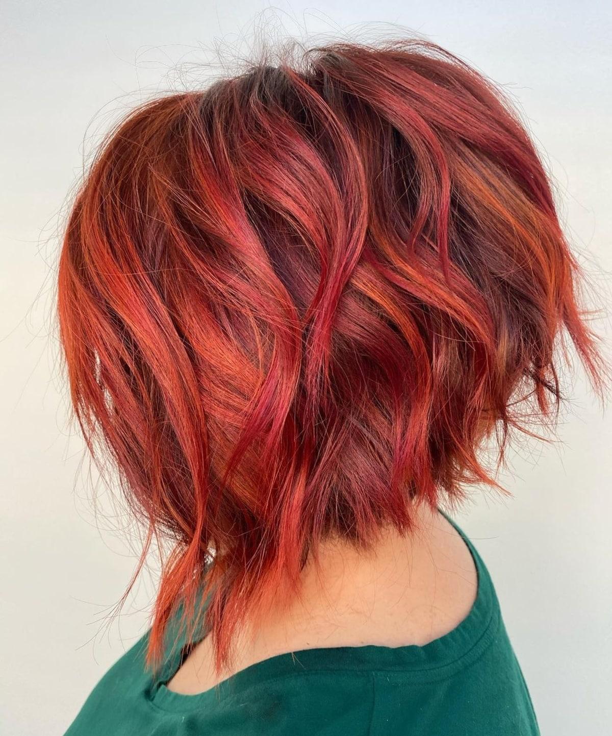 24 Examples of Short Asymmetrical Bob Haircuts for Women