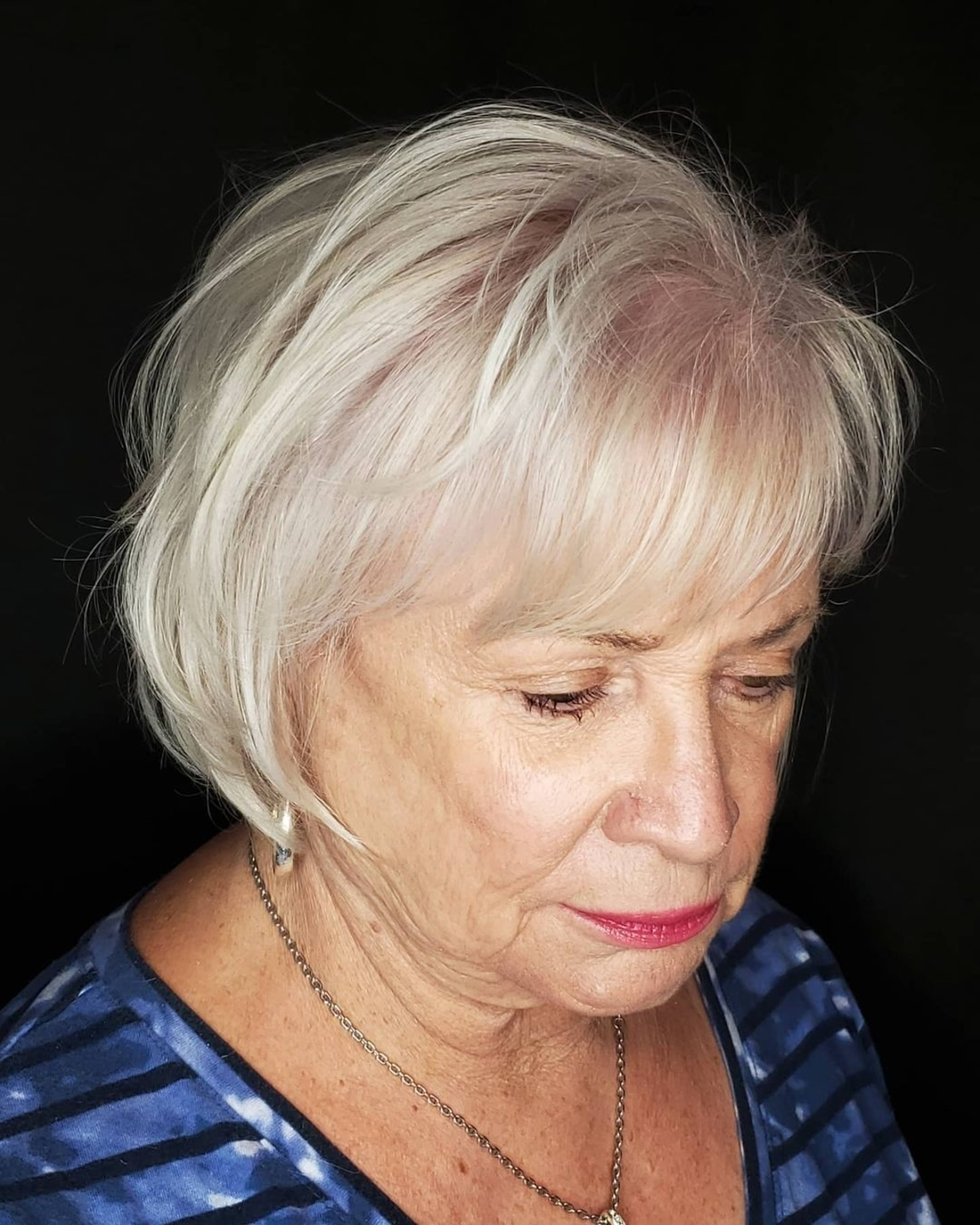 18 Trendy Short Haircuts for Older Women with Fine Hair to Boost Volume