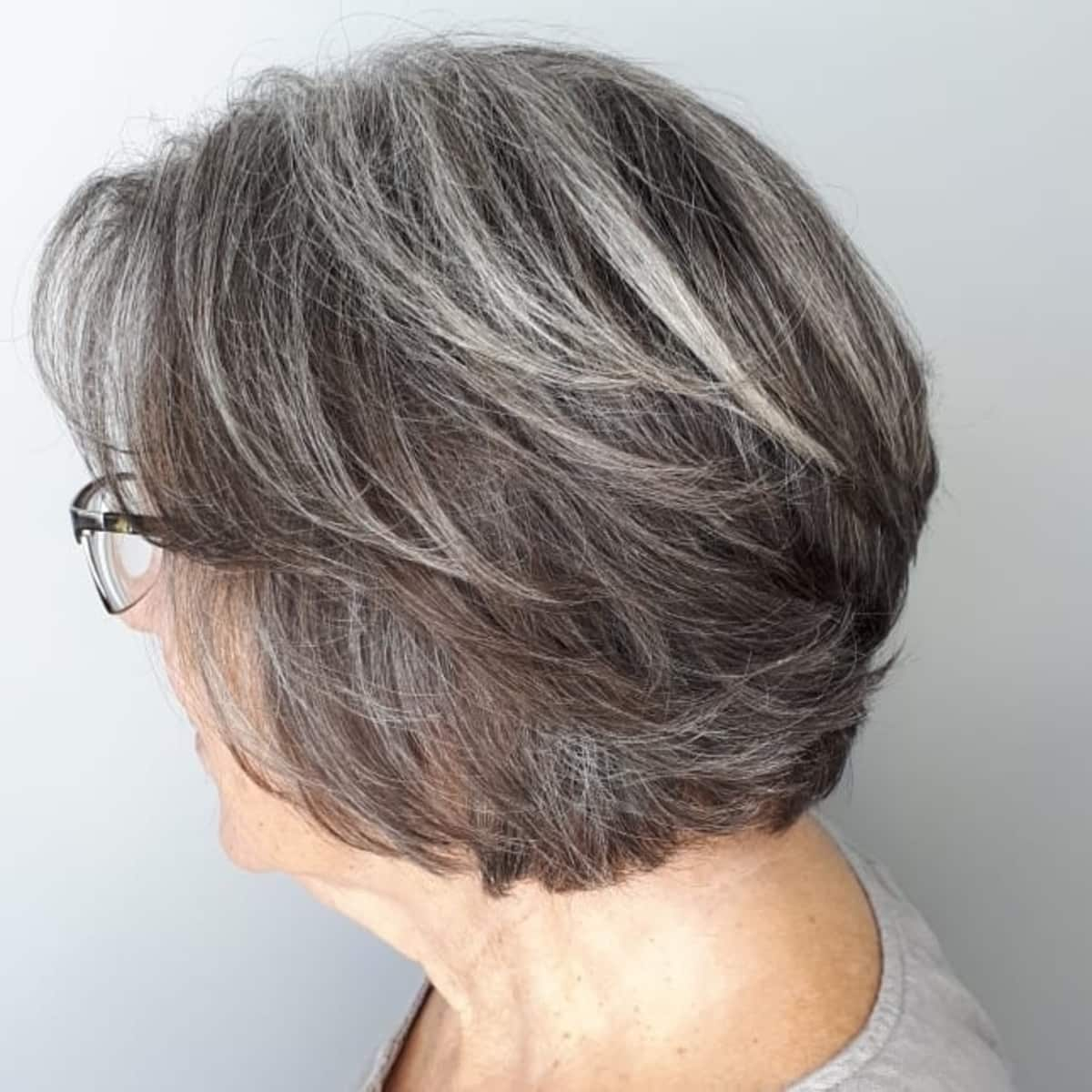 15 Flattering Short Hairstyles for Women Over 60 with Glasses