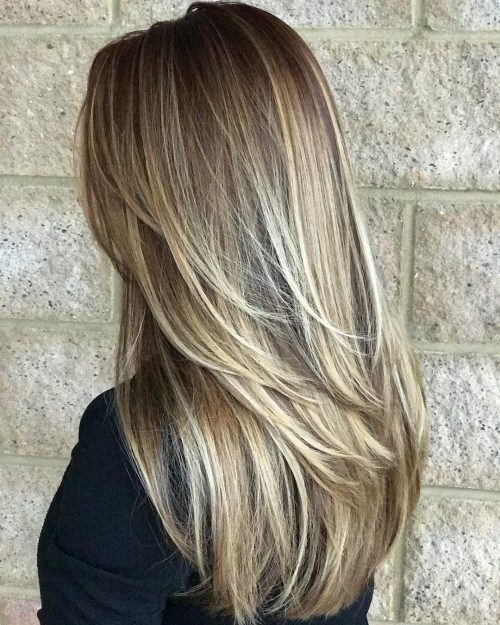 13 Examples That Prove Short Layers on Long Hair is Hot
