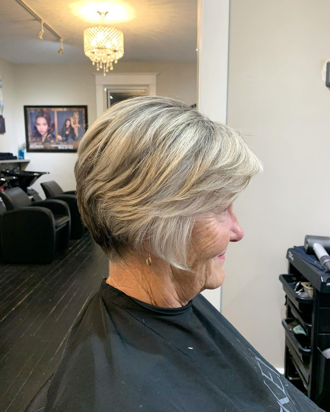 18 Modern Haircuts for Women Over 70 to Look Younger