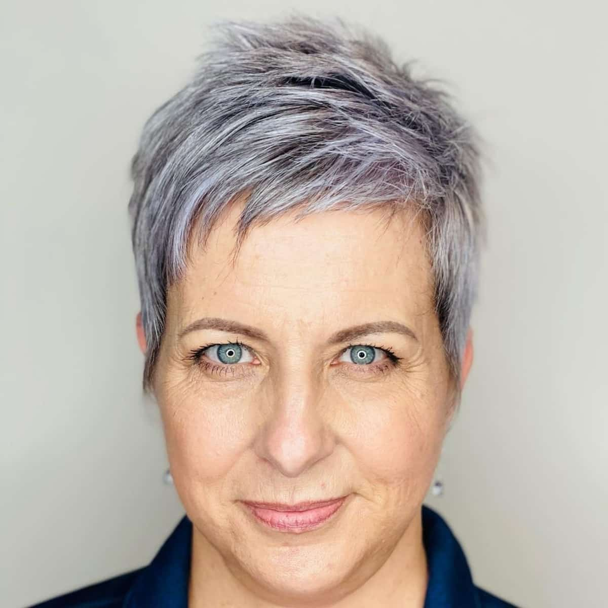 The 45 Most Youthful Short Hairstyles for Women Over 50