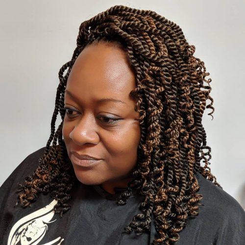 13 Killer Kinky Twist Hairstyles You've Gotta Check Out