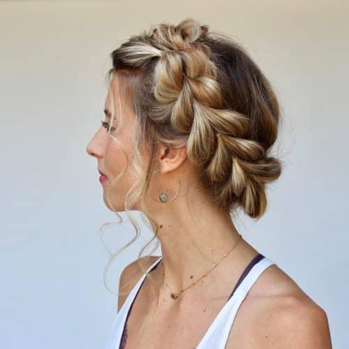 15 Prettiest Halo Braid Hairstyles to Copy