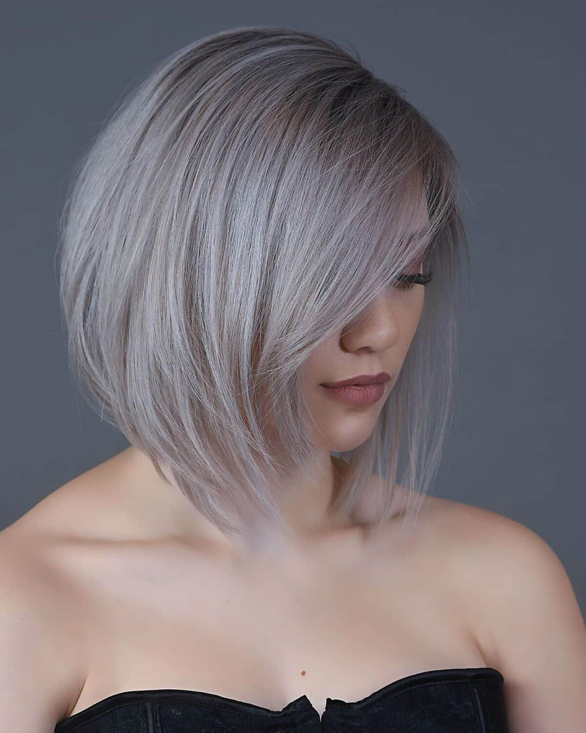 25 Most Popular Stacked Bob with Bangs for a Trendy Makeover Haircut