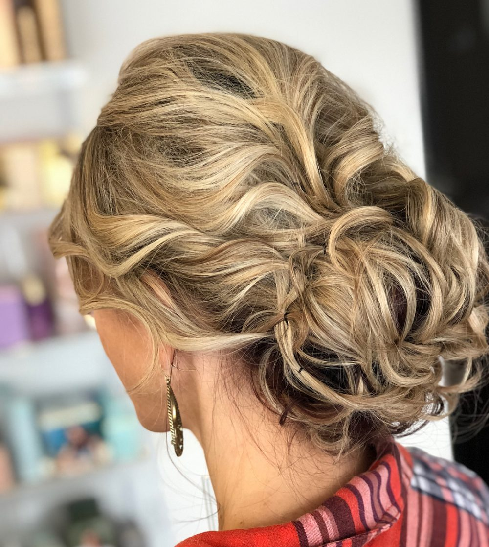 18 Sexiest Messy Updos You'll See Right Now