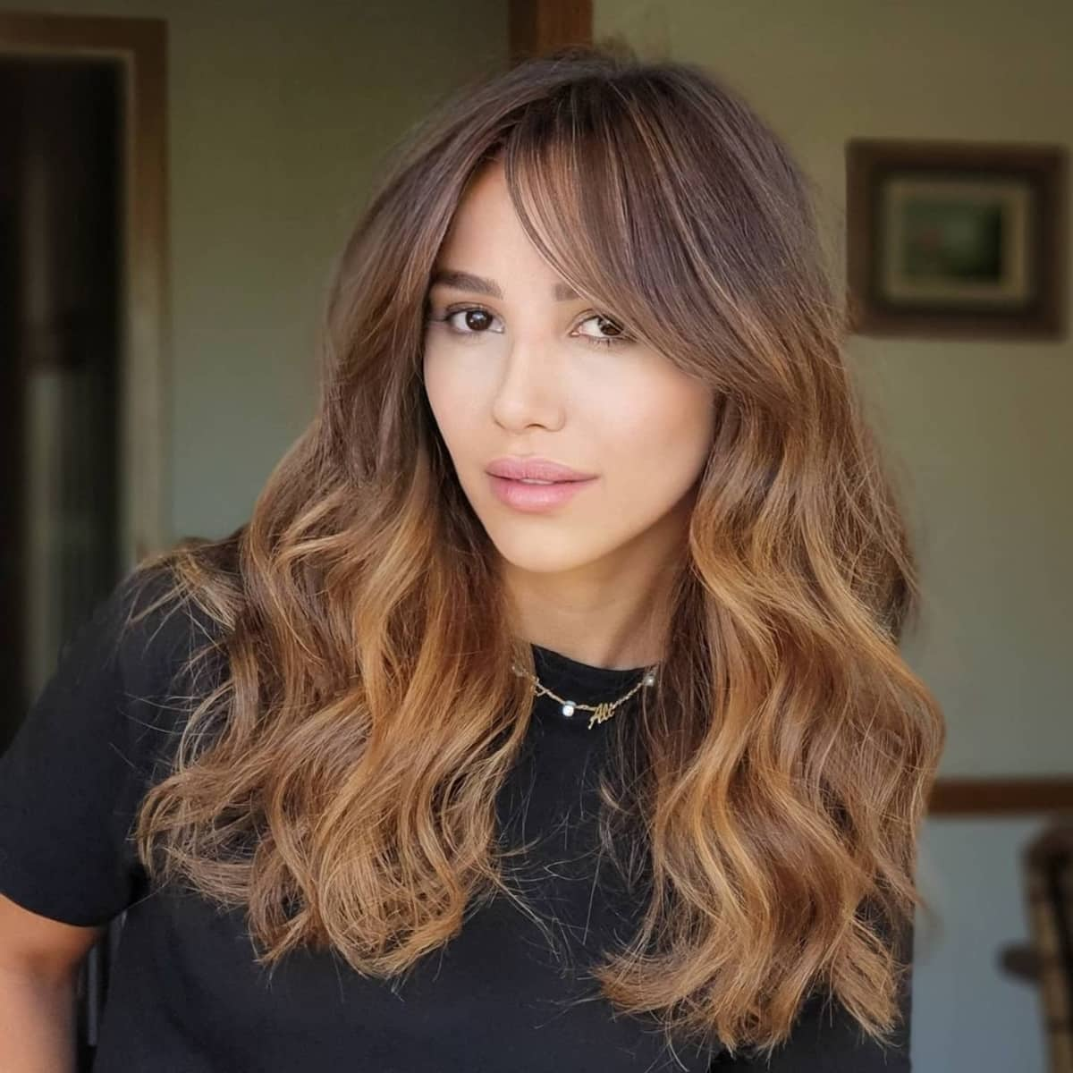 39 Best Examples of Long Hair With Bangs