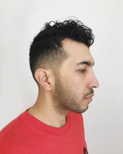 Curly Hair Fade Haircuts: 17 Awesome Examples