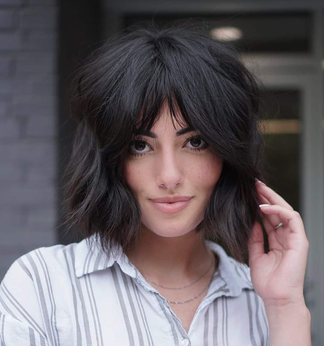23 Hottest Short, Chin-Length Hair Ideas
