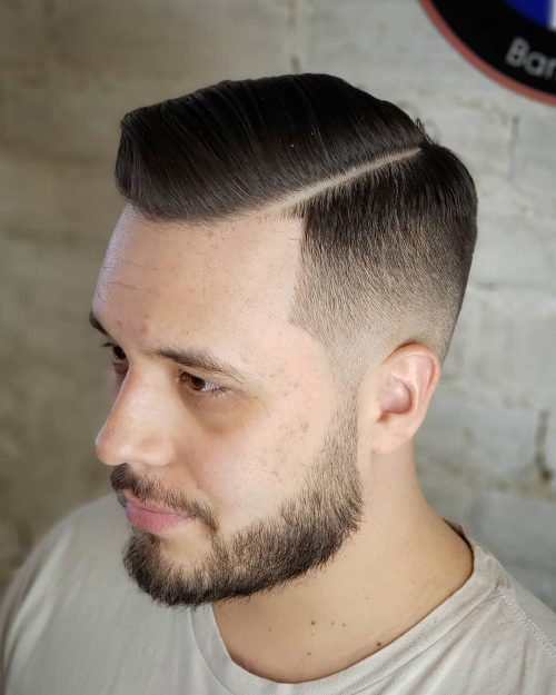 18 Classy Meets Modern Side Part Haircut Ideas for Men