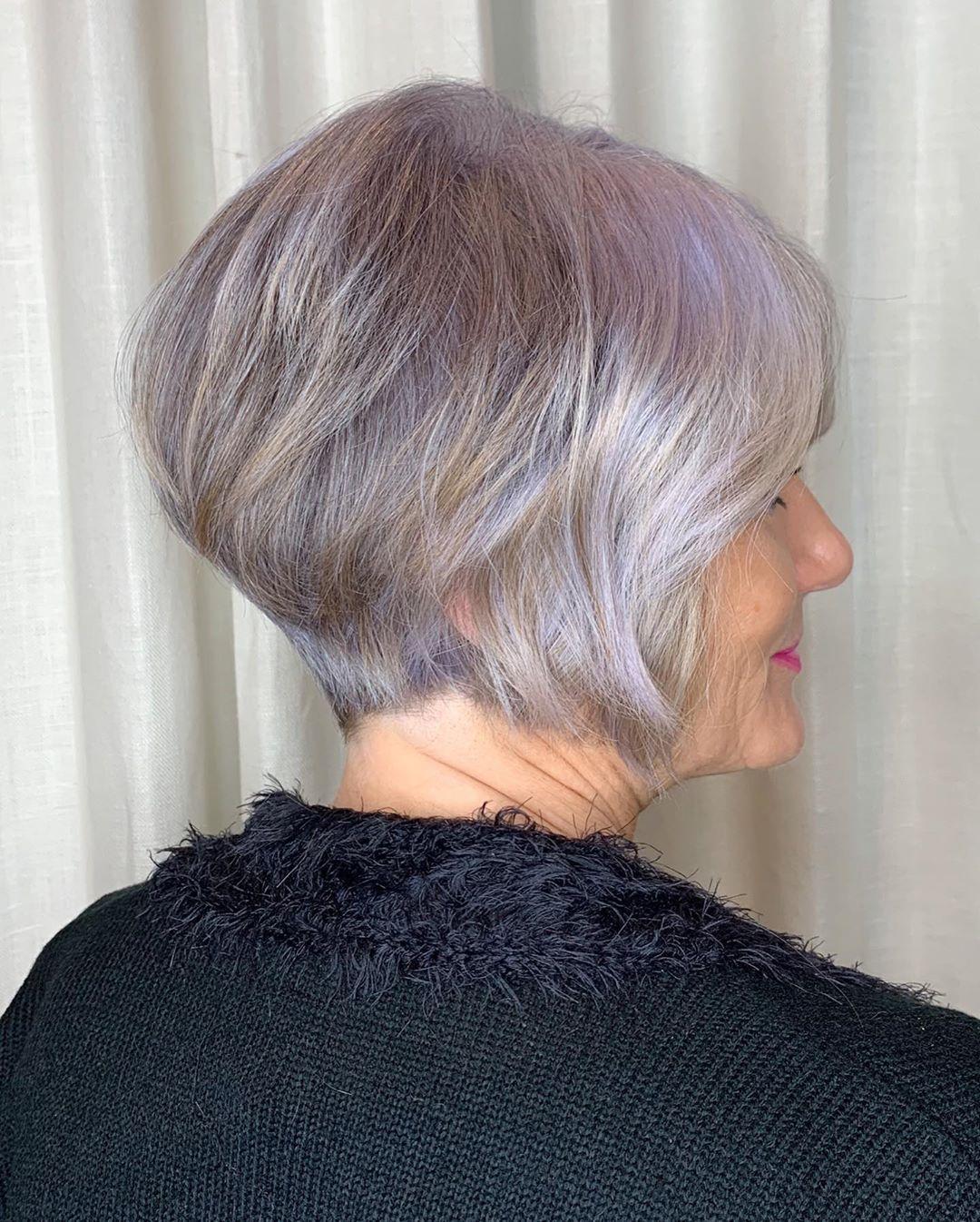 24 Classy Bob Haircuts for Older Women