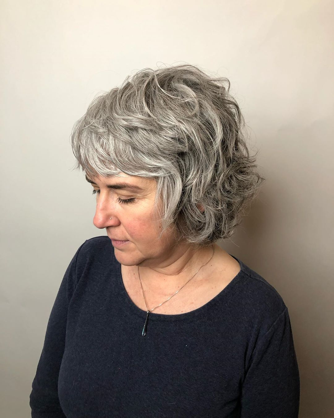 15 Youthful Shag Haircuts for Older Women