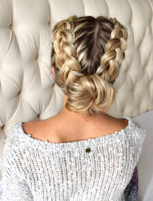29 Gorgeous Braided Updo Ideas For That Special Event