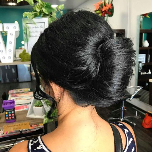 21 Super Quick and Easy Updos Anyone Can Do