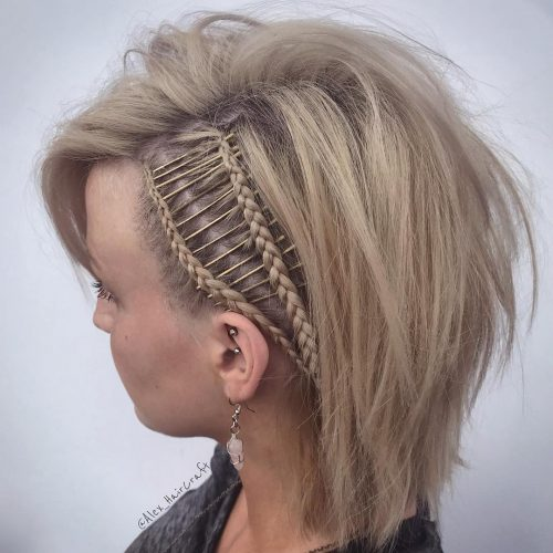 33 Cutest Braids For Short Hair Girls