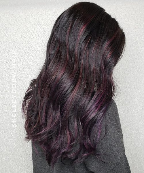 17 Amazing Examples of Black Cherry Hair Colors