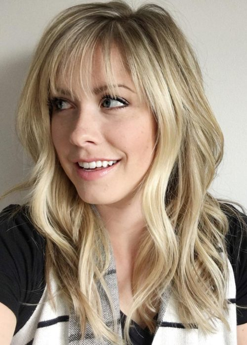 30 Sexiest Wispy Bangs You Need to Try This Year